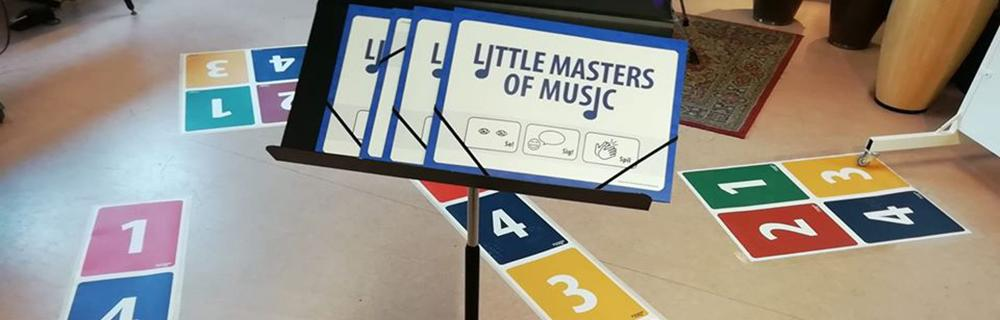 Materiale til Little Masters Of Music