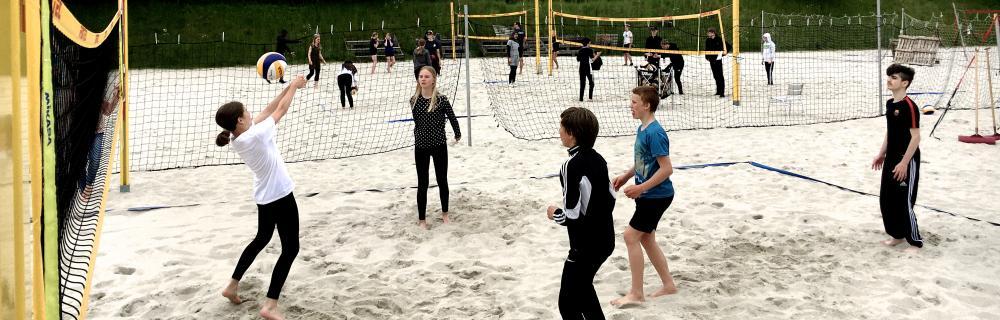Beachvolley for skoler