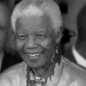 Desmond Tuto, Steve Biko, Pritz, Nelson Mandela - collage