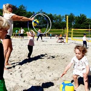 Ramasjang volley i sandet