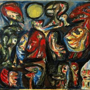 Asger Johns Sankt Hans II (1952), ARoS