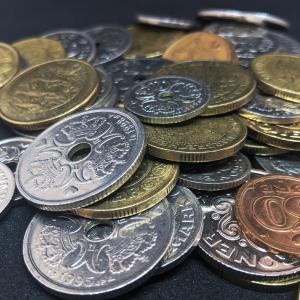 en stak penge