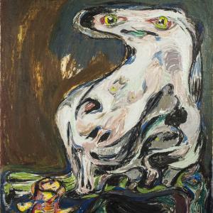 Asger Jorn: Femelle interplanétaire, 1953.